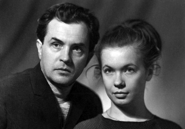 Александр и Ольга Зиновьевы, 1969