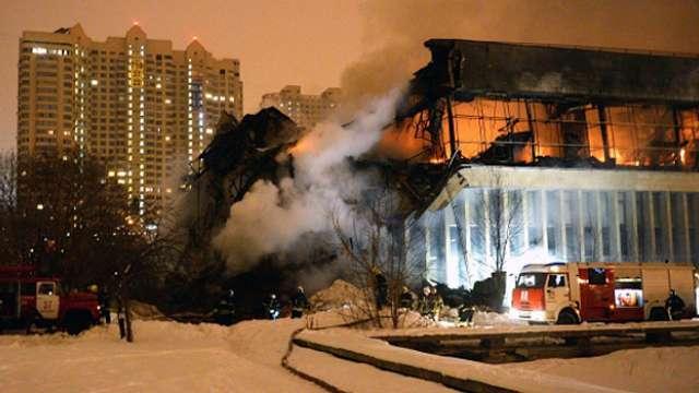 Пожар в ИНИОН назвали зачисткой секретов о развале страны