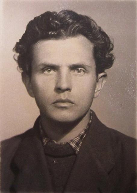 А.А. Зиновьев. 1951 год.
