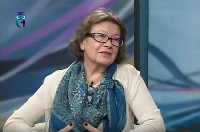 Ольга Зиновьева на СГУ ТВ