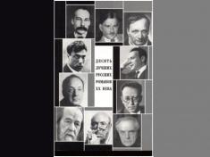 Десять лучших русских романов XX века: Сб. статей. М.: Луч, 2004.