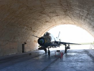 Последствия ракетного удара США по авиабазе в Сирии © РИА Новости. Михаил Воскресенский