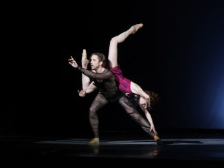 Андрей Меркурьев и Екатерина Крысанова в балете W.ODA © Фото: Михаил Брацило