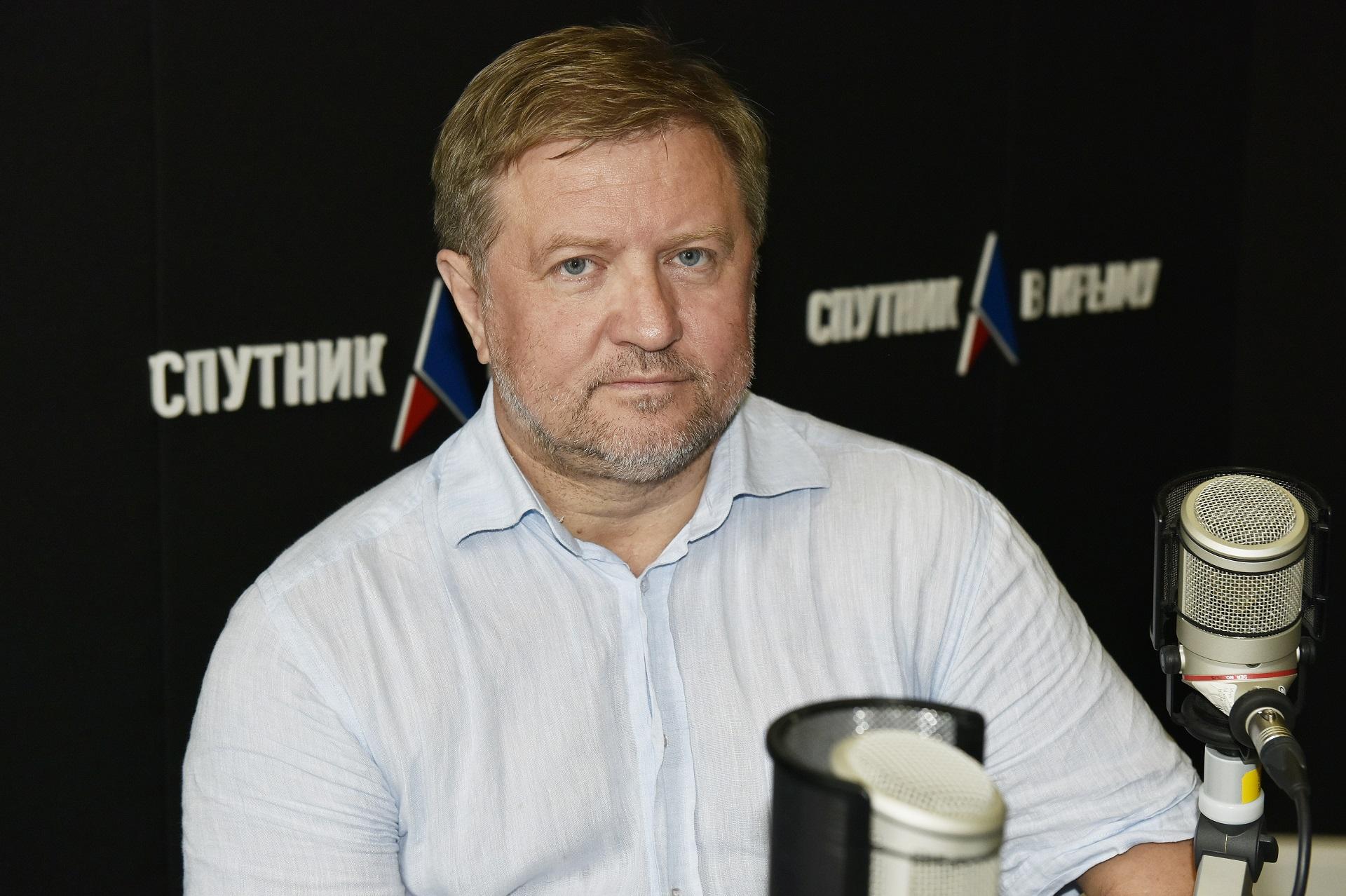 Владимир Лепехина на Радио «Спутник в Крыму»